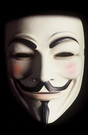 Mask of V for Vendetta