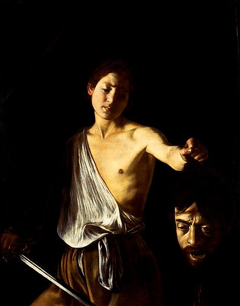 David and Goliath's Head by Caravaggio