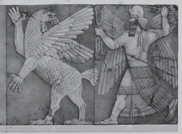 Tiamat and Marduk