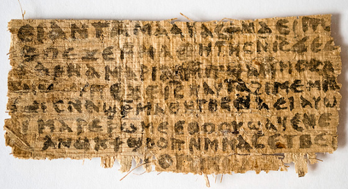 Fragment of Manuscript