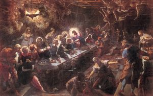 The Last Supper - Tintoretto (1594)