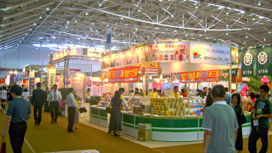 2008 Food Taipei: Organic Food Area